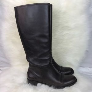 Banana Republic leather pull up riding boots